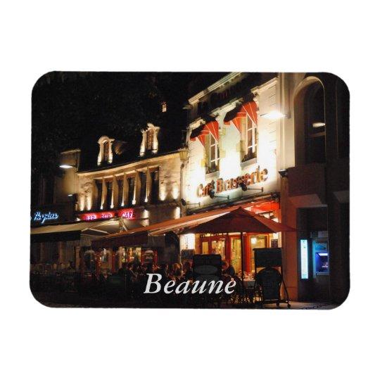 Cafe Society, Beaune, Burgundy Magnet