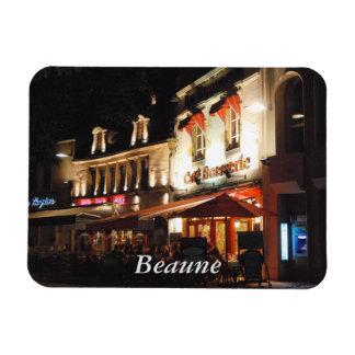 Cafe Society, Beaune, Burgundy Rectangular Photo Magnet