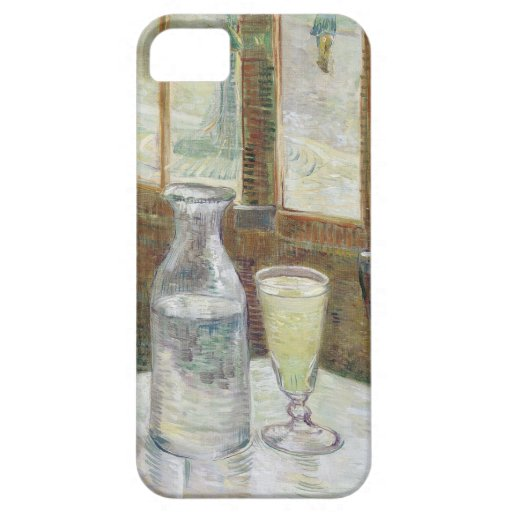 Café table with absinth  iPhone 5 Case