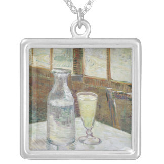 Café table with absinth Necklace