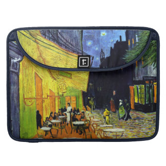Café Terrace at Night by Van Gogh Fine Art Sleeve For MacBook Pro