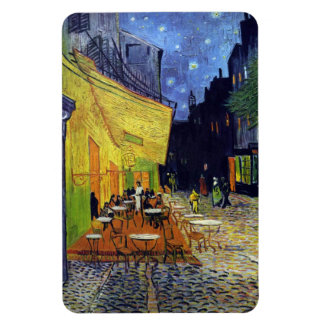 Cafe Terrace at Night by Vincent van Gogh 1888 Magnet