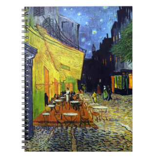 Cafe Terrace at Night by Vincent Van Gogh Notebooks