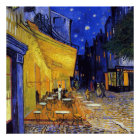Cafe Terrace at Night by Vincent van Gogh Poster