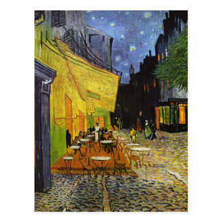 Cafe Terrace at Night Van Gogh Postcard