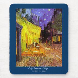 Café Terrace at Night Vincent van Gogh Mouse Pads