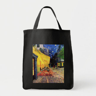 Café Terrace on the Place du Forum, Arles at Night Tote Bag