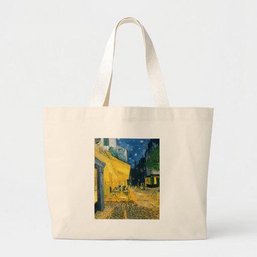 Cafe Terrace, Place du Forum, Arles, 1888 Canvas Bag