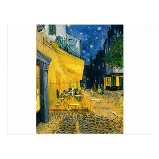 Cafe Terrace, Place du Forum, Arles, 1888 Postcard