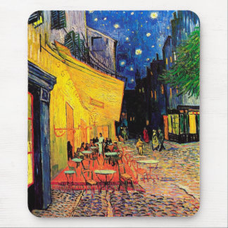 Cafe Terrace Place du Forum Van Gogh Fine Art Mouse Mat