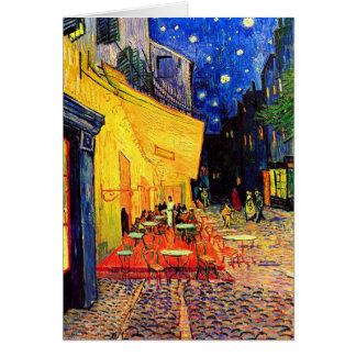 Cafe Terrace Place du Forum Van Gogh Fine Art Note Card