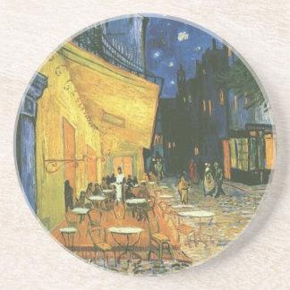Cafe Terrace - Vincent van Gogh Beverage Coasters