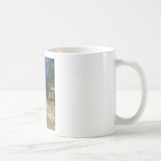 Cafe Terrace - Vincent van Gogh Basic White Mug