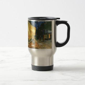 Cafe Terrace - Vincent van Gogh Stainless Steel Travel Mug