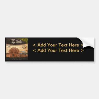 Cafe Toy Poodle Bumper Sticker