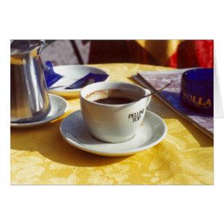 Cafe Verona Greeting Card