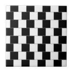 Cafe Wall Optical Illusion Horizontal Lines