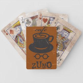 Cafe Zuno 01 Poker Deck
