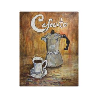 Cafecito - Cuban Coffee Canvas Print