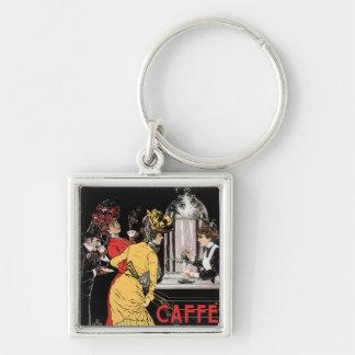 Caffe Espresso Vintage Coffee Drink Ad Art Keychain