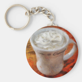 Caffe Latte Key Chains