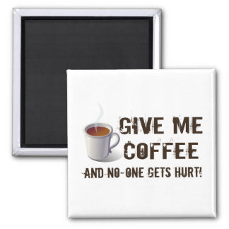 Caffein Deprivation Refrigerator Magnets
