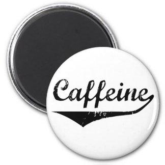 Caffeine 6 Cm Round Magnet