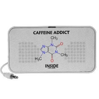 Caffeine Addict Inside (Caffeine Molecule) Travel Speakers