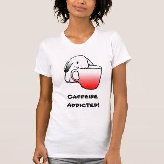 Caffeine Addicted!   T-shirt