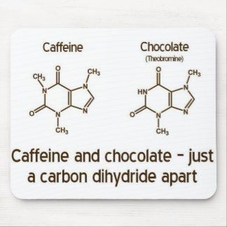 Caffeine and Chocolate Mousepad