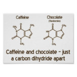 Caffeine and Chocolate Poster