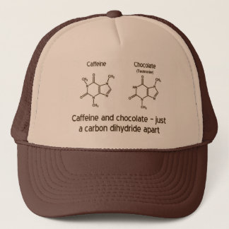 Caffeine and Chocolate Trucker Hat