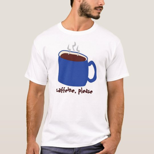 Caffeine Blue T-Shirt