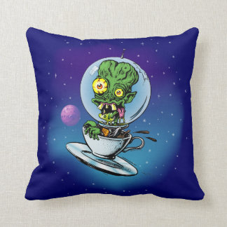 Caffeine Case From Outer Space Cushion