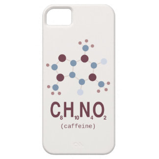 Caffeine Chemical Formula iPhone 5 Covers