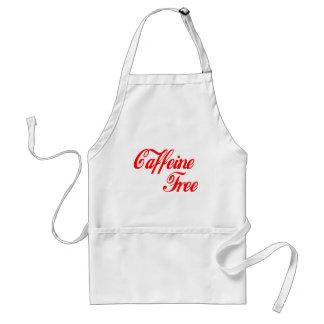 Caffeine Free Adult Apron