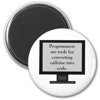Caffeine into Code Magnet