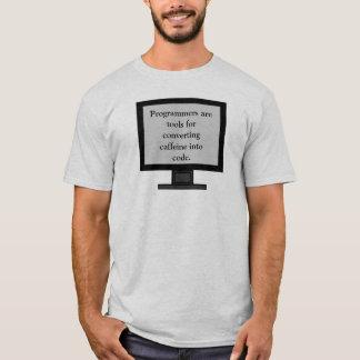 Caffeine into code Men's Shirt