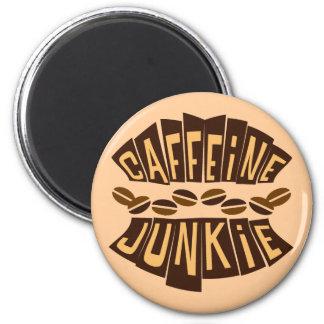 CAFFEINE JUNKIE MAGNETS