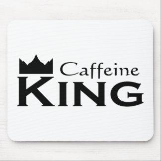 Caffeine King Mouse Pad