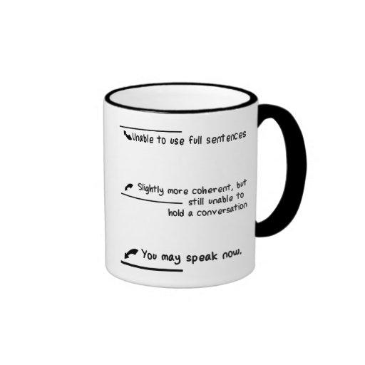 Caffeine Level Measurements Mugs