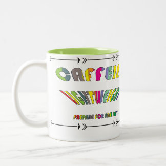 Caffeine-Lightweight Two-Tone Coffee Mug