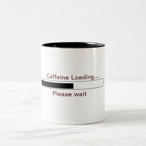 Caffeine loading mug