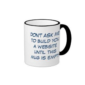Caffeine ME! Ringer Coffee Mug