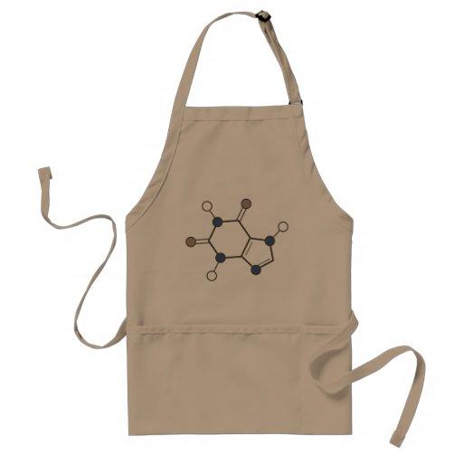caffeine molecule aprons