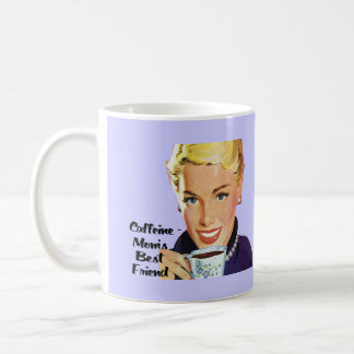 Caffeine - Mom's Best Friend Coffee Mug