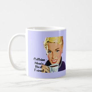 Caffeine - Mom's Best Friend Coffee Mug