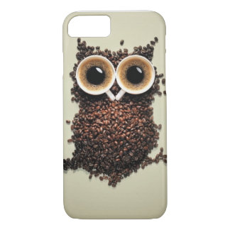 Caffeine Owl iPhone 7 Case