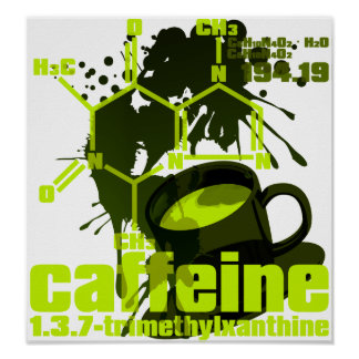 Caffeine Posters
