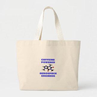 Caffeine Powered Aerospace Engineer Jumbo Tote Bag